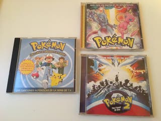 Bandas sonoras Pokemon (CD)