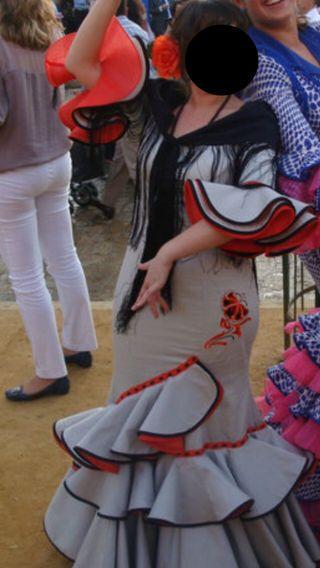Traje de gitana/flamenca Micaela Villa T38