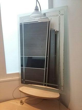 Espejo de lavabo