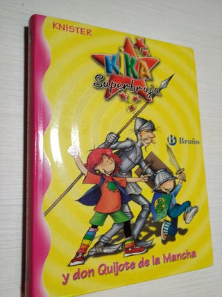 "Libro""Kika super bruja y don Quijote de la Mancha"""