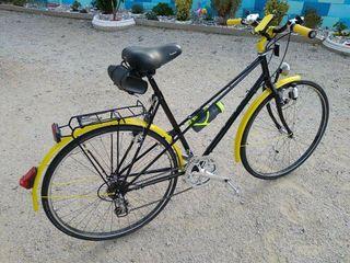 Bicicleta antigua personalizada.