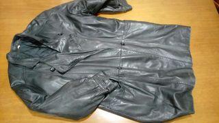 abrigo chaquetón piel
