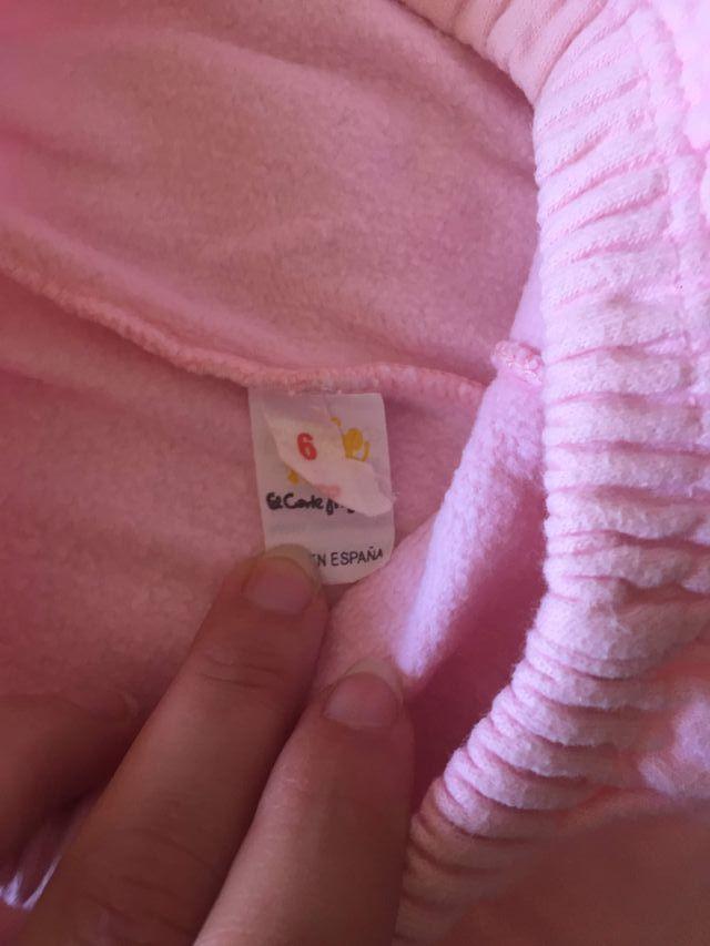 Chándal de bebé marca El Corte Ingles T6M