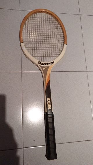 raqueta madera slazenger match
