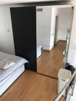 Armario Pax Ikea puertas correderas espejo