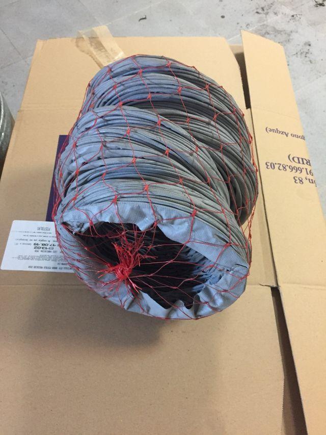 Tubo flexible de aluminio aislado