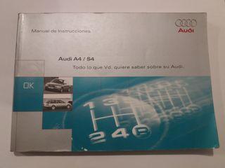 Manual de Instrucciones Audi A4/S4