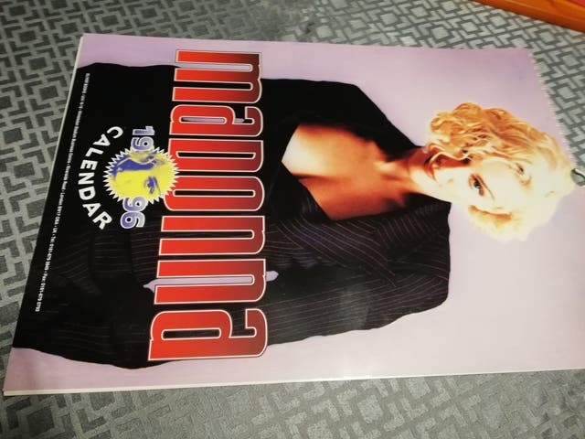 Calendario 1996.Madonna Calendario 1996 De Segunda Mano Por 10 En Madrid