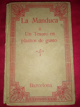 libro la manduca antiguo