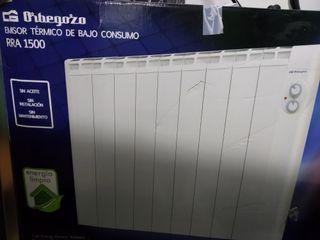 Radiador/Estufa bajo consumo marca Orbezozo