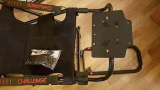 Silla gaming plegable