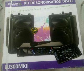 Amplificador Sonido Ibiza Sound DJ-300 MKII