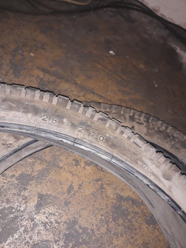 neumáticos de descenso