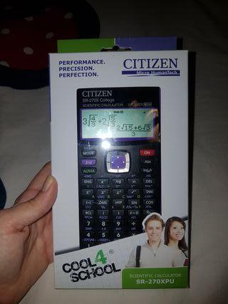 Calculadora no programable CITIZEN SR-270