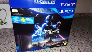 Consola Ps4 1Tb star wars battlefront2