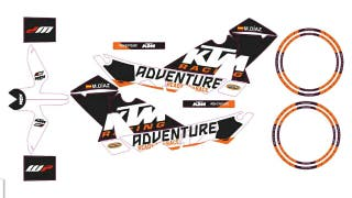 Pegatinas ktm 950/990 adventure