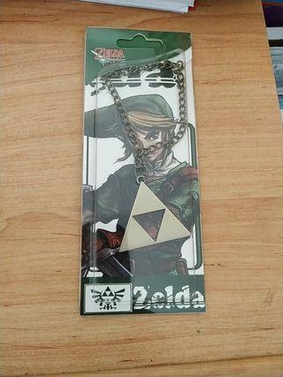 Colgante Zelda trifuerza