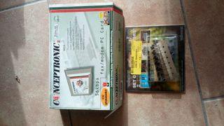 tarjeta fax/modem antigua