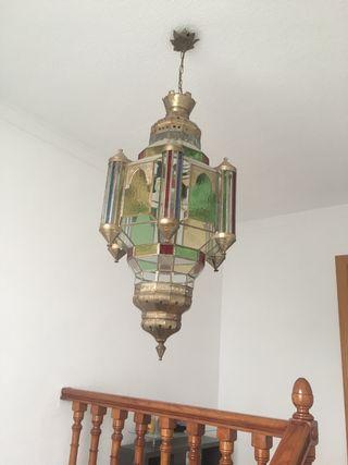 Farol lámpara artesanal
