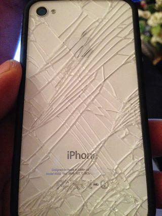 cambio de cristal trasero iPhone 8