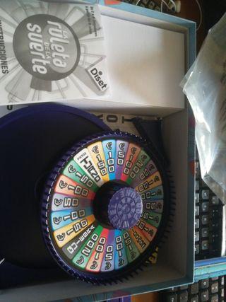 la ruleta de la suerte juego de mesa