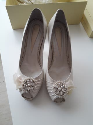zapatos de novia de segunda mano en sabadell en wallapop