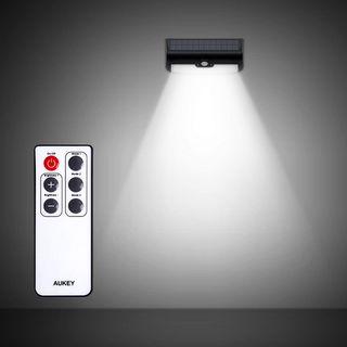 Lámpara Solar + Sensor Movimiento + Mando Estrenar