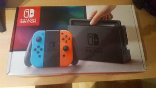Nintendo switch Roja y azul