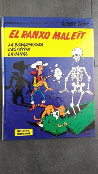 LUCKY LUKE edición en catalán