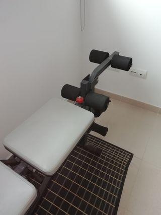 banco de pesas Domyos BM250