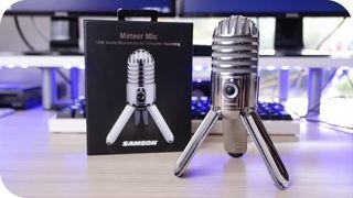 Microfono Samson Meteor USB