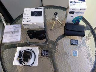 Panasonic Lumix DMC-TZ70EG-K + Pack accesorios
