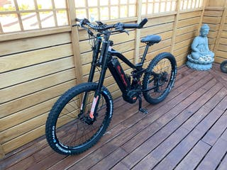 Bicicleta electrica Mountain Bike Downhill 1000w