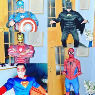 ANIMACION SUPERMAN SEVILLA