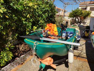 Barca bote fun yak pesca y paseo