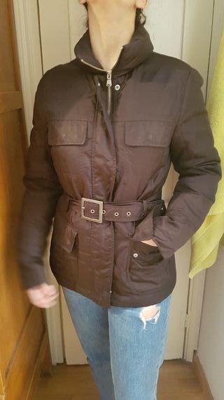 Abrigo marrón Benetton