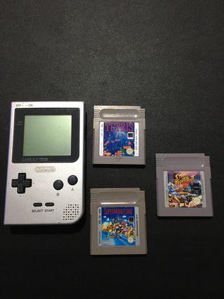 Game Boy + 3 juegos