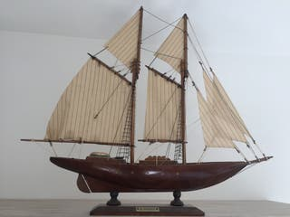 Maqueta Del Barco Velero Bluenose