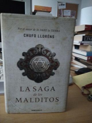 La saga de los malditos Libro