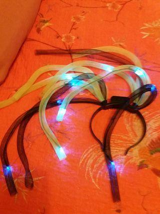 Diadema con luces