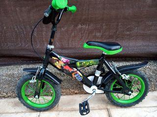 bicicletas de las tortugas ninja