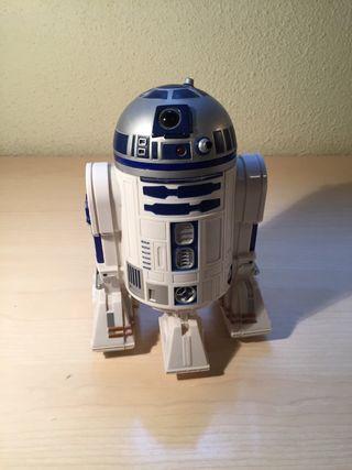Figura de Star Wars: andoide R2D2.