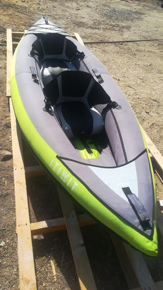 Kayak Inchable dos plazas