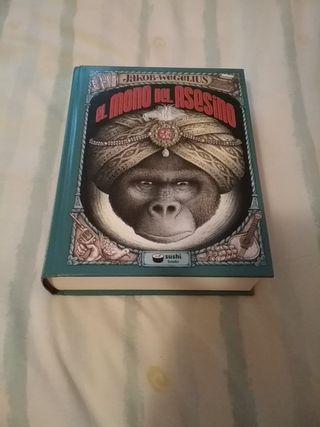 libro el mono del asesino