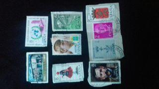 sellos antiguos de correos
