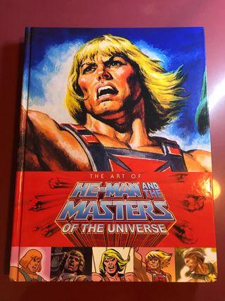 Libro el arte de He-man y los Masters del Universo