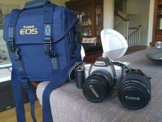 Cámara de fotos analógica Canon EOS 3000N.