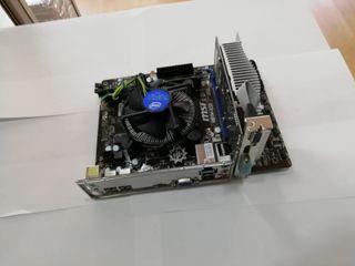 kit Placa Base + Procesador + Ram + Tarjeta Grafi