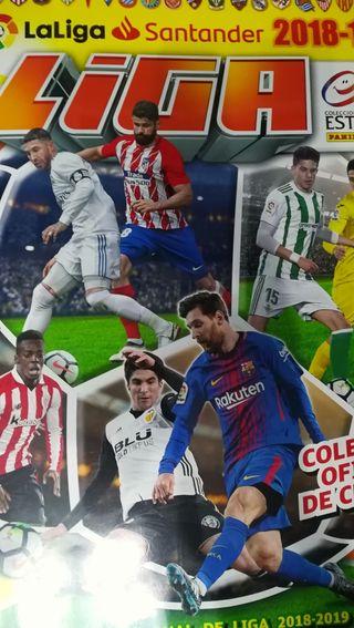 Cromos liga 2018-2019