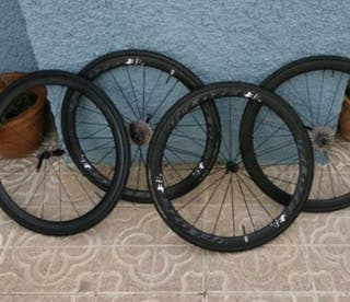 ruedas de carbono bicicleta de carretera